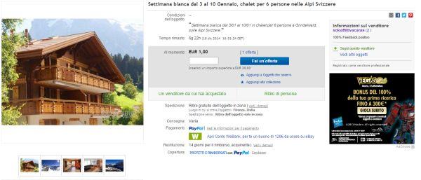 Vacanze a 1 euro per Capodanno e Natale