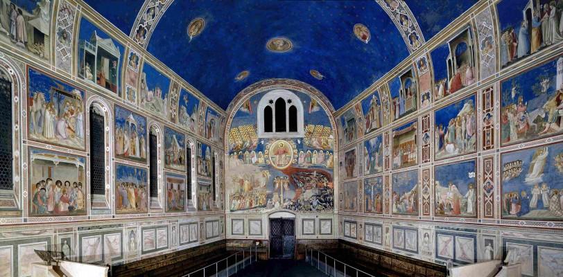 La Cappella degli Scrovegni a Padova con Cappella di Giotto