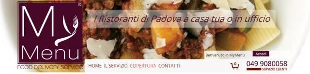 Mymenu: Pranzo e Cena a domicilio a Padova