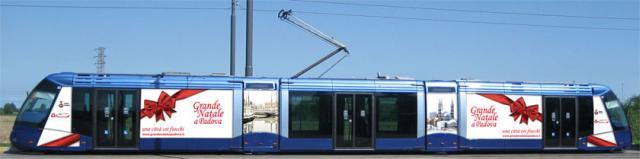 Padova: Al via linea Tram Padova - Venezia
